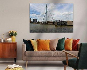 Erasmusbrug Rotterdam van Gertjan Hesselink