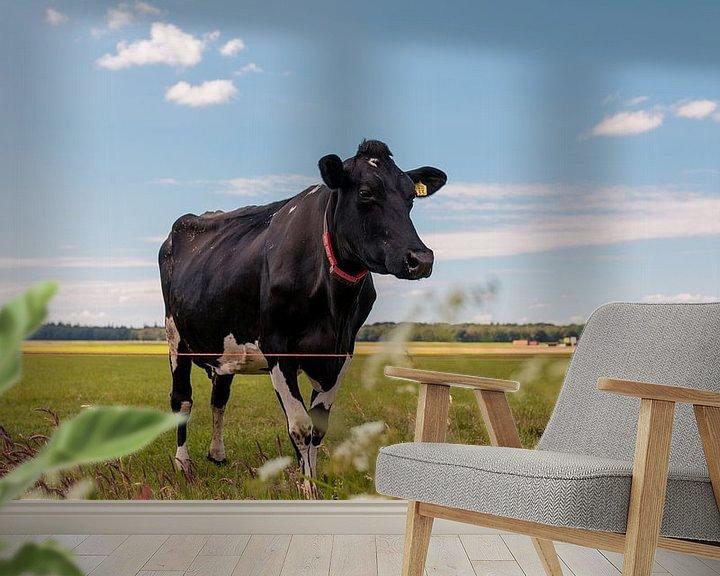 Sfeerimpressie behang: Het Nederlandse landschap van Jelle Lagendijk