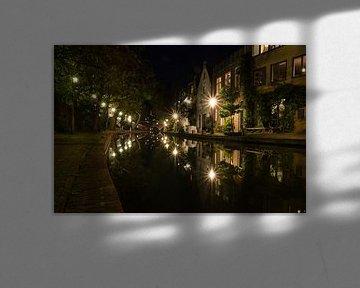 City Stars and Reflections - Oudegracht, Utrecht, Nederland