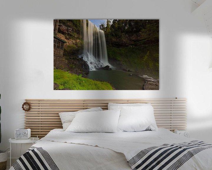 Beispiel: Die Basis des Dambri-Wasserfalls - Vietnam von Thijs van den Broek