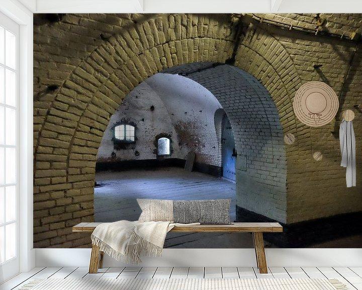 Beispiel fototapete: Fort Everdingen 2 von Maarten Kerkhof