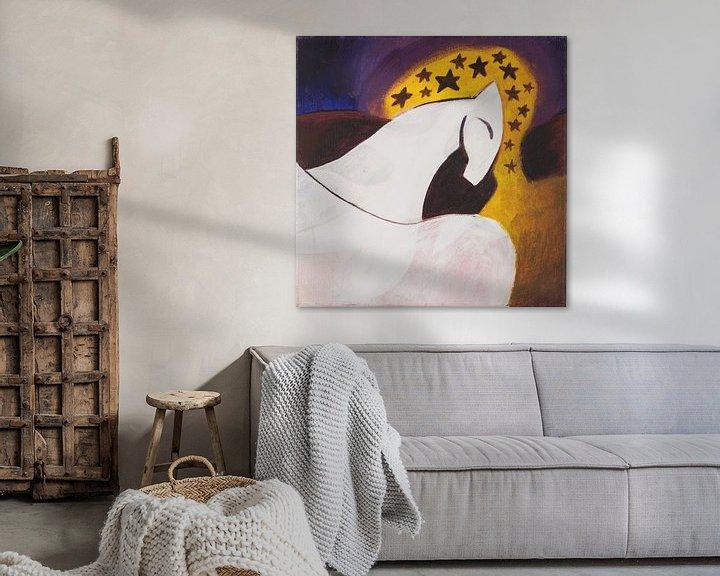 Sfeerimpressie: maanpaard (2) van Verbeeldt