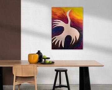 vuurvogel van Verbeeldt