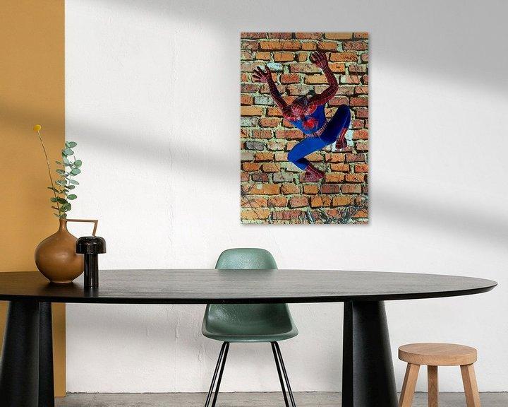 Beispiel: Figuren und Formen - Spiderman von Christine Nöhmeier