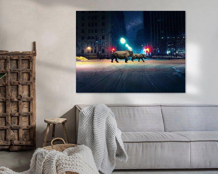 Sfeerimpressie: Lost in New York van Felix Neubauer