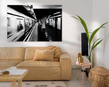 Londoner U-Bahn von Mark de Weger