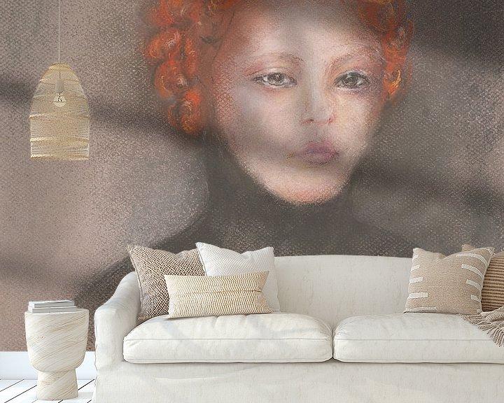 Impression: Retenue beauté rousse. sur Ineke de Rijk