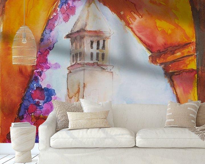 Sfeerimpressie behang: Zomer in de Algarve. van Ineke de Rijk