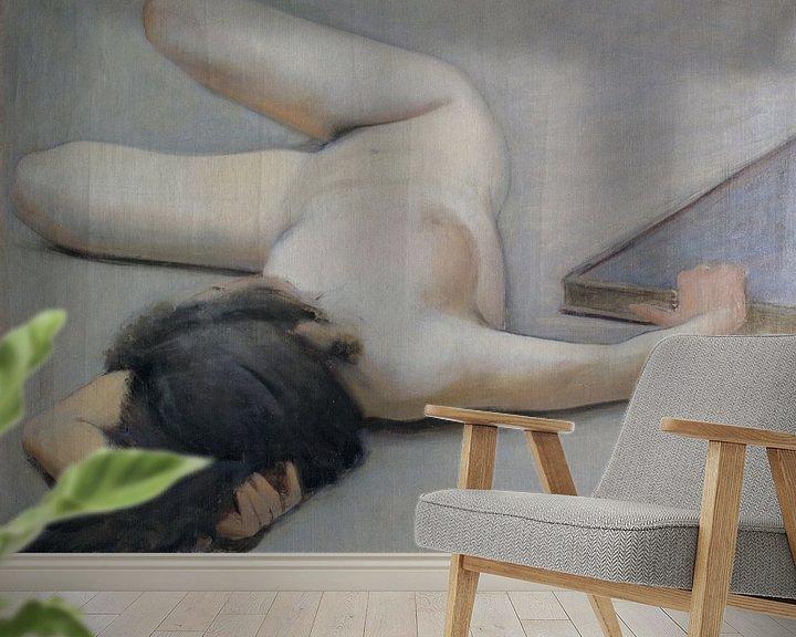 Beispiel fototapete: Female Nude, Ramon Casas