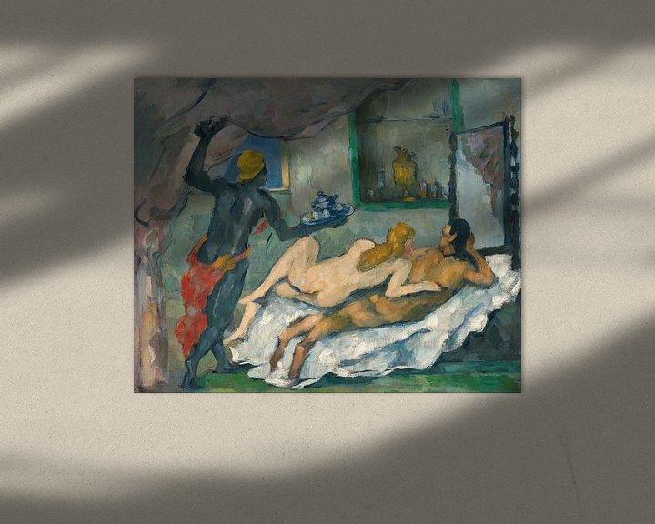Beispiel: L'Après-midi à Naples, Paul Cézanne