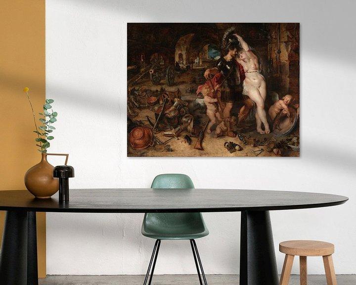 Beispiel: The Return from War: Mars Disarmed by Venus, Peter Paul Rubens
