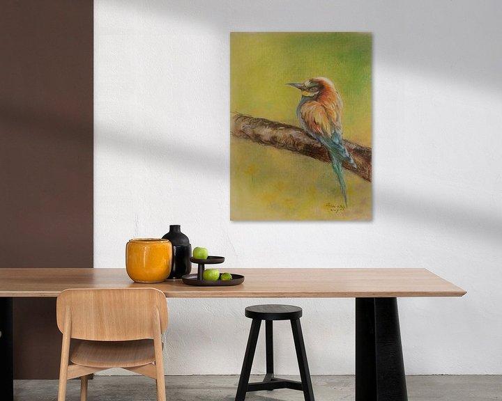 Beispiel: Vogel 3 von Ineke de Rijk