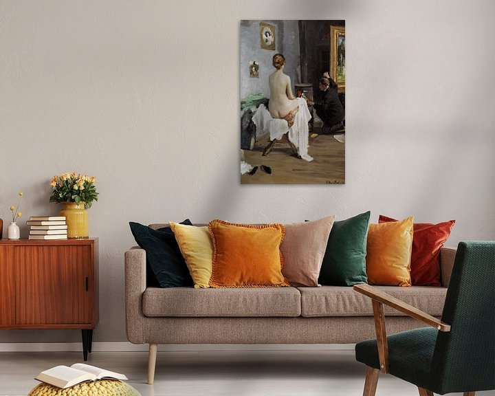 Beispiel: The Painter's Studio, Janis Rozentāls