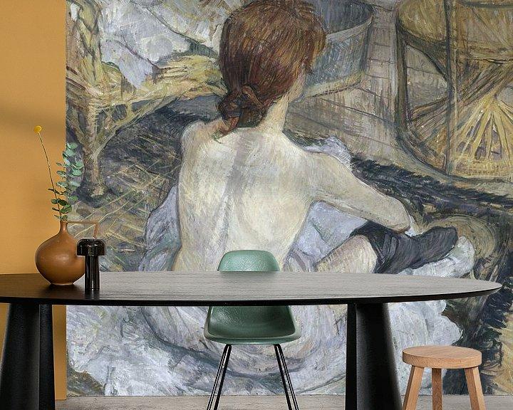 Beispiel fototapete: Rousse, Henri de Toulouse-Lautrec
