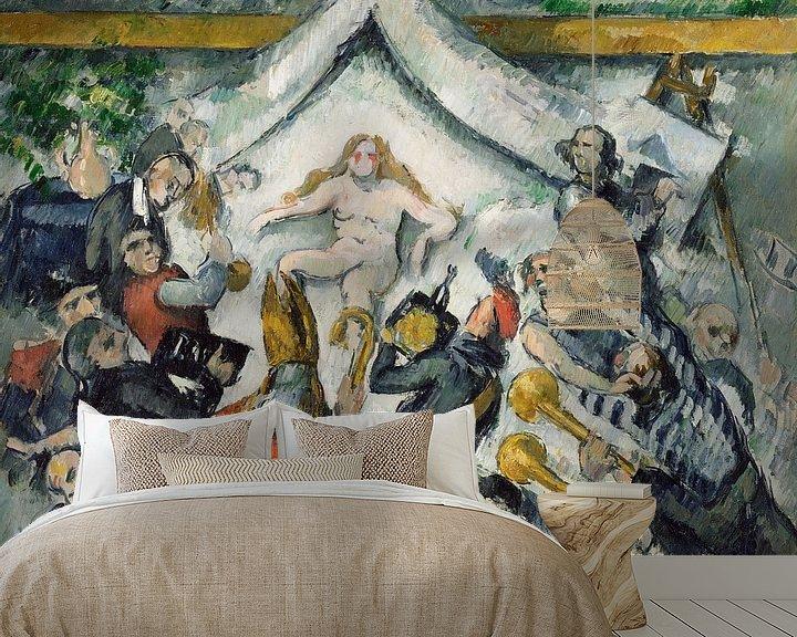 Beispiel fototapete: The Eternal Feminine, Paul Cézanne