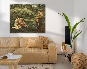De tuin van Pan, Edward Burne-Jones