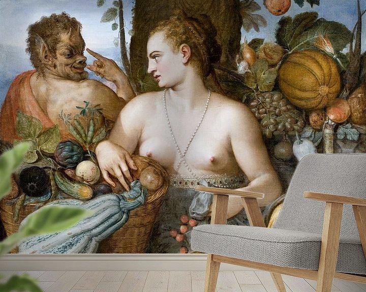 Beispiel fototapete: Pomona, Frans (Floris) de Vriendt