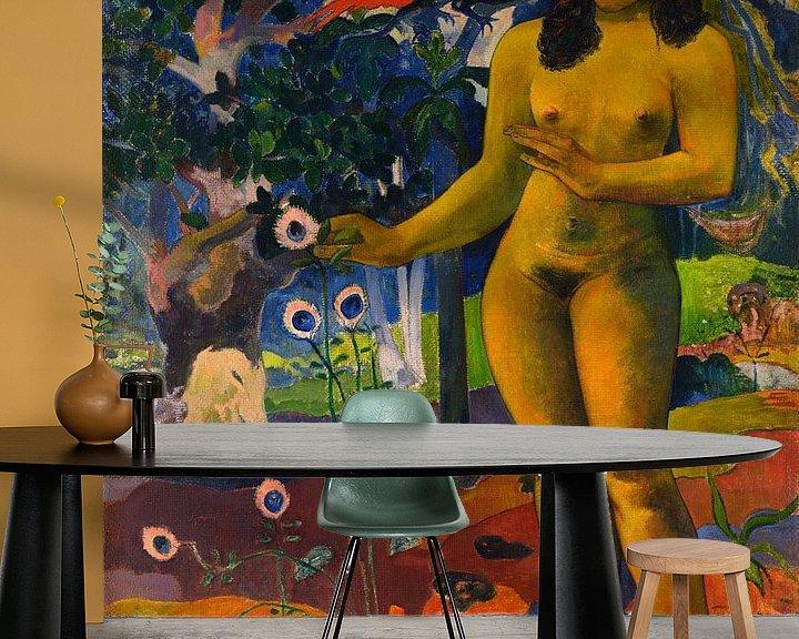 Beispiel fototapete: Te Nave Nave Fenua , Paul Gauguin