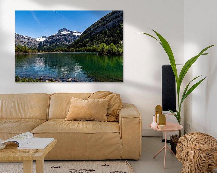 Sfeerimpressie: Lac de Derborance (1), Zwitserland van Ingrid Aanen