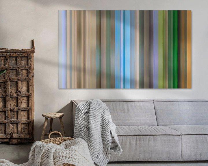 Impression: Palette de couleurs de la province de Drenthe aux Pays-Bas sur Reina Nederland in kleur