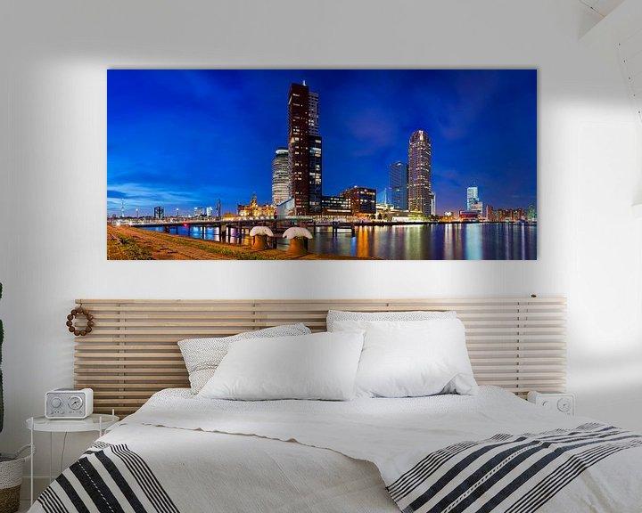 Beispiel: Panorama Montevideo in Rotterdam von Anton de Zeeuw