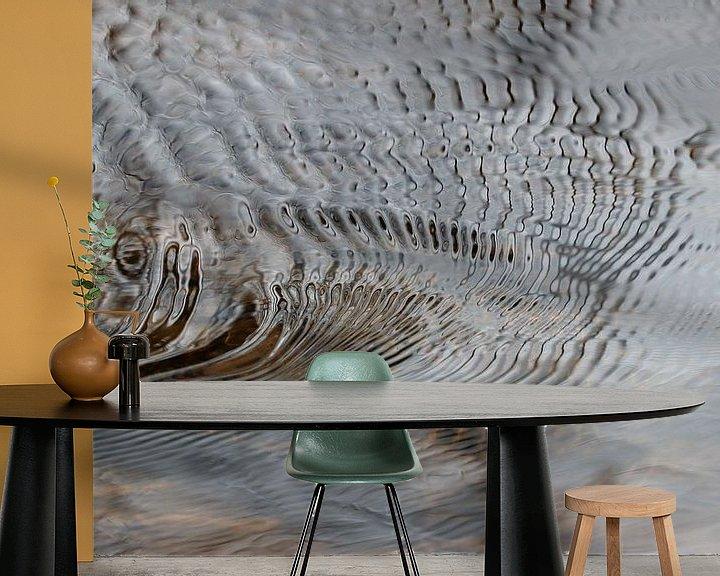 Sfeerimpressie behang: Golven en licht van Elbert Brethouwer