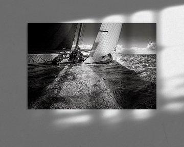 Licht und Schatten - skûtsje Doarp Huzum von ThomasVaer Tom Coehoorn