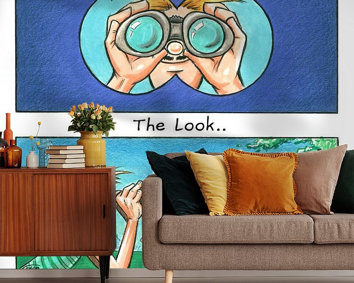 Beispiel fototapete: The Look of Love von Stan Groenland