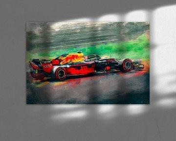 Red Bull Max Verstappen sur Arjen Roos