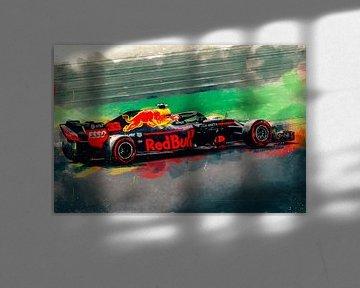 Red Bull Max Verstappen van Arjen Roos