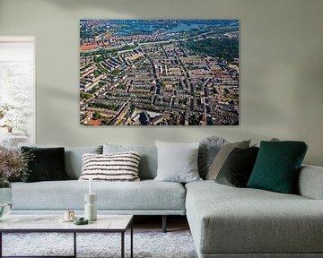 Luchtfoto Oude Noorden te Rotterdam
