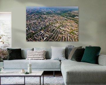 Luchtfoto Noord te Rotterdam