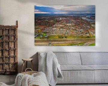 Luchtfoto Hillesluis, Bloemhof en Vreewijk te Rotterdam
