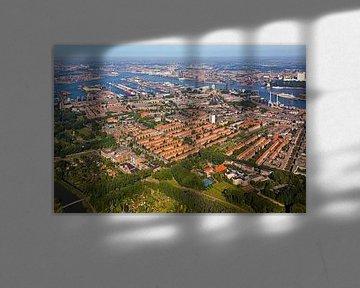 Luchtfoto Charlois te Rotterdam 2