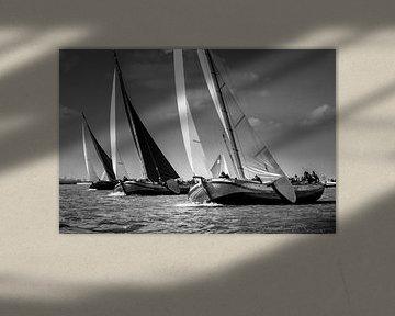 Drei Skûtsjes am Wind von ThomasVaer Tom Coehoorn