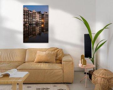Amsterdam - canalhouses von Thea.Photo