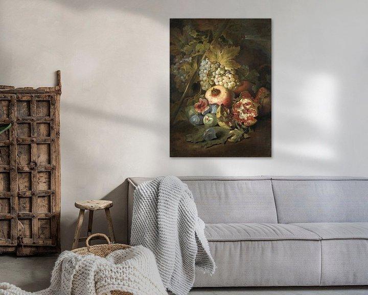 Beispiel: Stilleven met vruchten, Abraham Brueghel