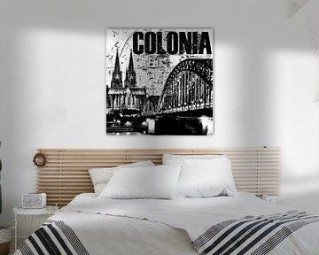 Colonia Köln von Bass Artist