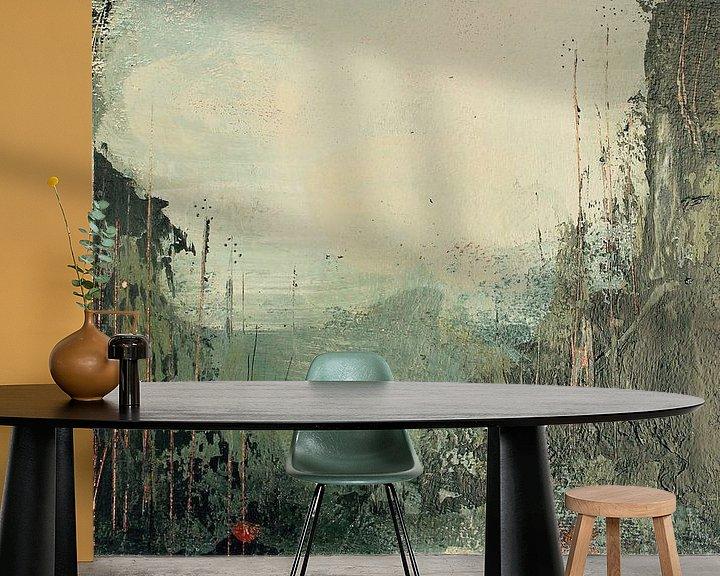 Beispiel fototapete: Green twilight von RAR Kramer