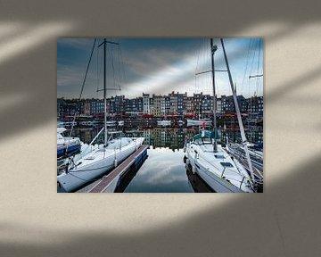 Honfleur, Stadt in der Normandie von Martijn Joosse