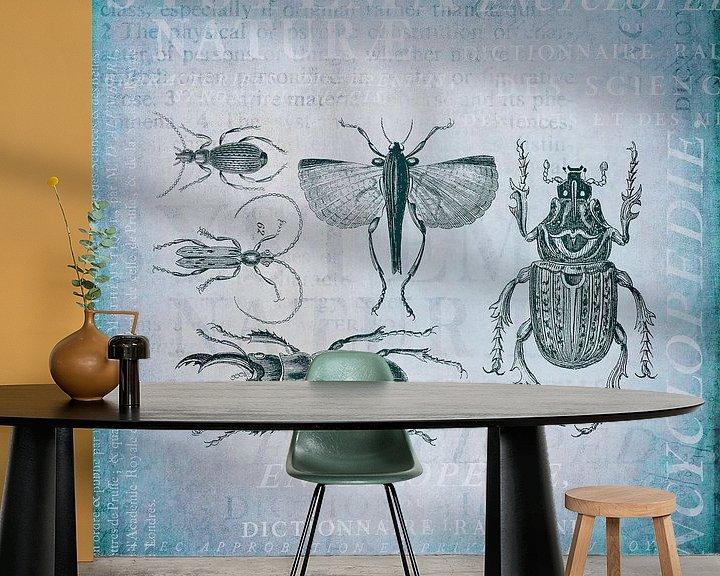 Sfeerimpressie behang: Kevers en insecten van Andrea Haase