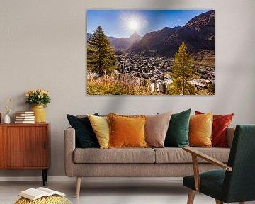 Zermatt und das Matterhorn in der Schweiz von Werner Dieterich
