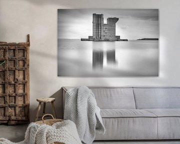Pijler van de Delta waterkering van Jan van der Vlies