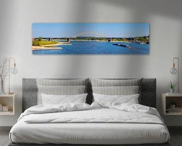 Panorama Waal Brücke Nijmegen von Anton de Zeeuw