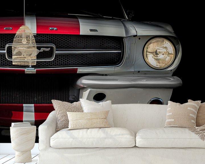 Impression: Mustang sur marco de Jonge