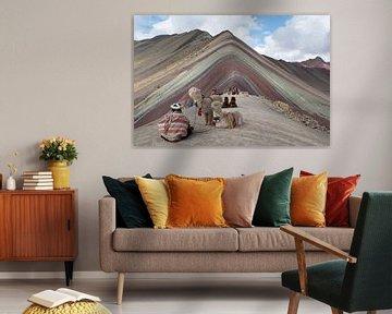 Rainbow Mountain von Niki Radstake