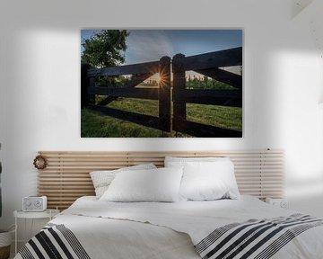 Molen de Vlinder in de vroege ochtend van Moetwil en van Dijk - Fotografie