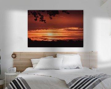Zonsondergang in Drenthe van Zo jij! Fotografie
