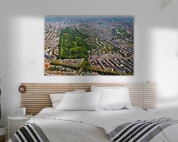 Luchtfoto Vondelpark te Amsterdam van Anton de Zeeuw
