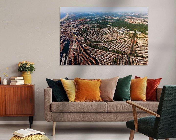 Beispiel: Luchtfoto Scheveningen von Anton de Zeeuw